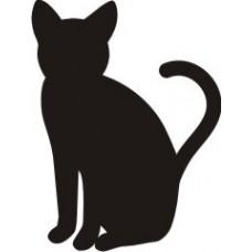 """Штамп из серии """"Кошки"""", размер 1,8*2,5см"""