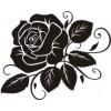 Роза  1,8см х 1,4см