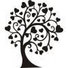 Дерево с сердечками -2
