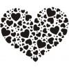 Сердце-7  2,8см х 2,3см