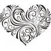 Сердце-2     2,8см х 2,3см