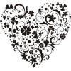 Сердце-5   3,7см х 3,4см