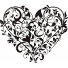 Сердце-6   3,7см х 3,2см