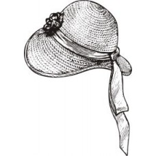 Шляпка - винтаж -1