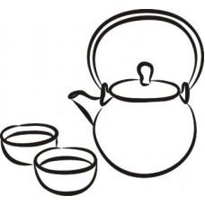 Чайный набор-1   3,7 см х 3,4 см.