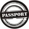 Паспорт   2,9 см х 2,9 см