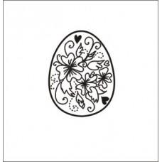 Яйцо Пасхальное.  3,0 см х 2,3 см.
