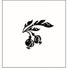 Ягодка с листочком