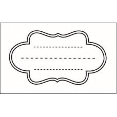 Рамка для журналинга.  6,0 см х 3,3 см