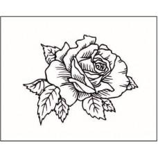 Роза  3,4 см х 2,7 см