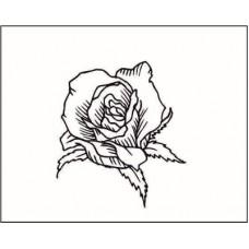 Роза   2,8 см х 2,4 см.