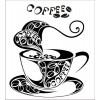 Чашка кофе 3,2*3,8 см