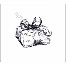 Подарок  2,8 см х 2,3 см.