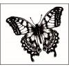 Бабочка   3,1 см х 2,6 см