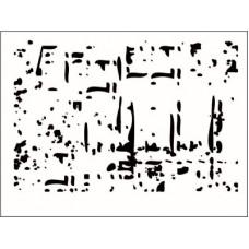 Фоновый штамп. 6,8 см х 4,6 см