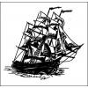 Морская тема 5,6 см х 5,1 см