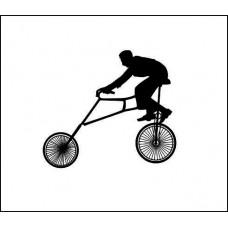 велосипедист  2,8 см х 2,5 см