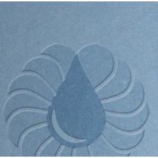 Бумага дизайнерская плотностью  270  г/м² COLORPLAN  размер 30*30, голубой