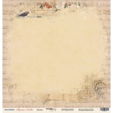 Лист односторонней бумаги 30x30 Музыка. Коллекция Музыка Любви