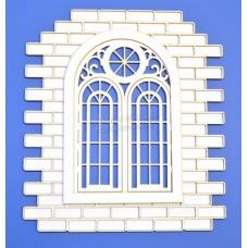 """Чипборд """"Окно""""  Размер: 113х126мм"""