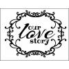 История нашей любви   6,4 см х 4,9см