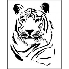 Тигр  4,3 см х 6,0 см