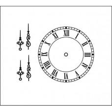 Часы и стрелки (мал)  3,5 см х 3,5см