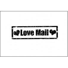Love Mail 4,8 см х 1,4 см