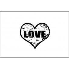 Love 2,7 см х 2,3 см