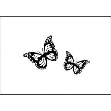 """Штамп  """"Бабочки- маленькие"""" 3,2см х 1,9см"""