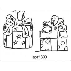 "Штамп  ""Подарки"" (2 штампа)"