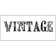 "Штамп  ""Vintage"" 6,4см х 1,4см"
