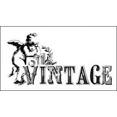 "Штамп  ""Vintage"" 6,5см х 3,3см"