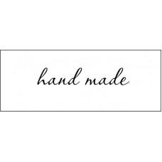 "Штамп  ""Hand made""  4*4см х 0,8см"