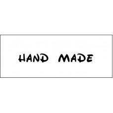 "Штамп  ""Hand made""  5,1см х 0,6см"