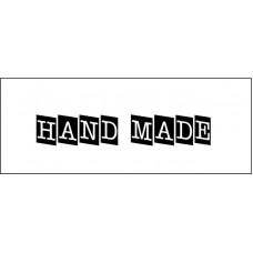 "Штамп  ""Hand made""  5,3см х 1см"