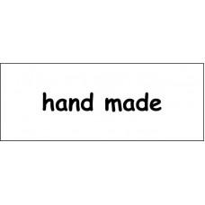 "Штамп  ""Hand made""  4,5см х 0,7см"