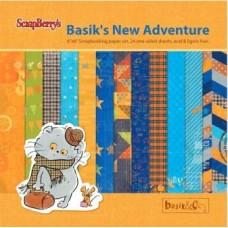 "Набор бумаги 15*15 см ""Basik&Ko"" Басик"