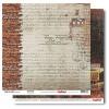 Лист бумаги 30,5х30,5 см 190 гр/м, двусторон Гаражи Трасса
