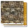Лист бумаги 30,5х30,5 см 190 гр/м, двусторон Гаражи Микросхемы