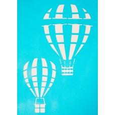 "Трафарет ""Воздушные шары"", 12х19 см"