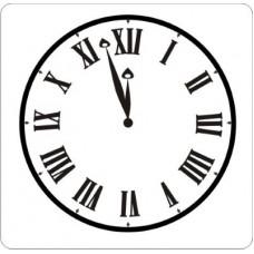 Часы  3,0 см х 3,0 см.